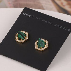 Marc Jacobs Tapered Geometric Stud Earrings